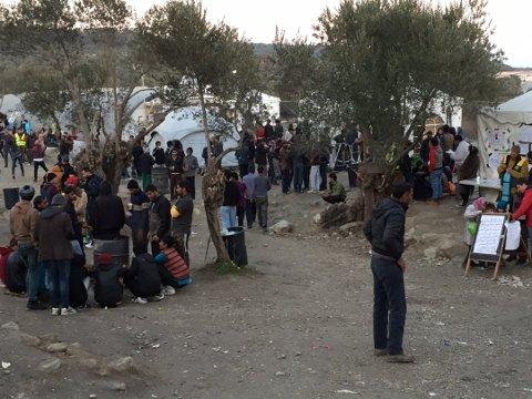 Bakgrunn i situasjonen i Hellas: Initiativet til «Solidarity Cities» kommer fra ordføreren i Athen, byen har tatt imot mange av flyktningene som kommer til øya Lesvos, hvor dette bildet er tatt. (Arkivfoto: Lill Mostad)