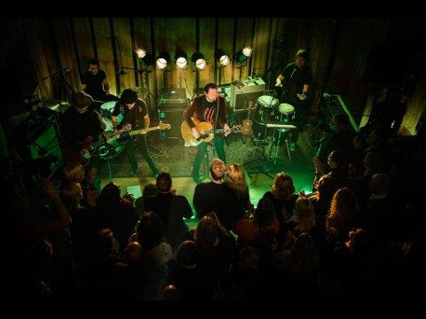 CC Cowboys' nye konsertfilm «Tilbake til Halden» skal vises på Tollboden fredag kveld.