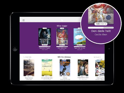 BookBites gir deg tilgang til e-bøker fra biblioteket.