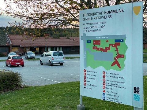 FEM SMITTET: Fire ansatte og én ny beboer har fått påvist koronaviruset på Glemmen sykehjem.
