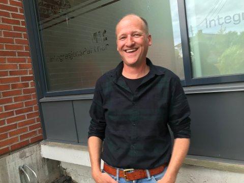 GJØR SUKSESS: Selv i disse koronatider har Morten Pettersen og IntegrasjonsPartner gjort suksess.