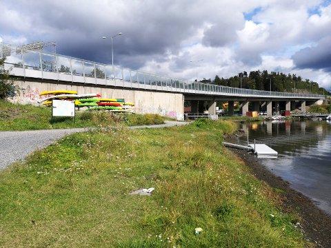 FRA SLEPENDEN: Padleinteressen fortsetter å øke, og nå vil Oslofjorden Friluftsråd sette ut lagrinsplasser og utsettingsramper som dette til byens kajakkpadlere. Nå vil de ha tips om plasser som egner seg.