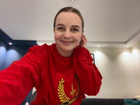 Anine Hovda ble vant til å stå foran kamera da hun filmet seg selv til NRK-serien Innafor.