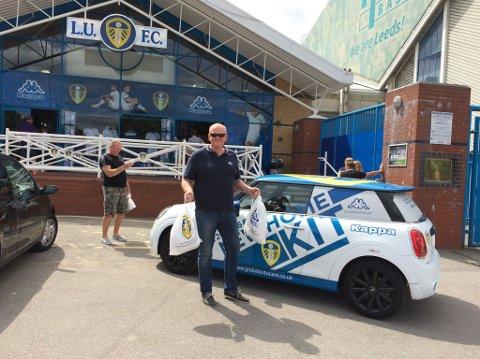STOLT SUPPORTER: Arild Bekken håper han denne helgen kan feire et etterlengtet opprykk til Premier Leauge med sitt kjære Leeds.