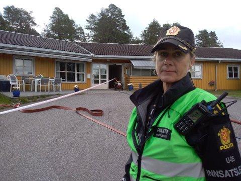 Innsatsleder Aina Eker