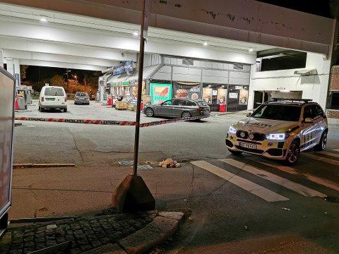 En mann i 20-årene er pågrepet og siktet for ranet av bensinstasjonen på St. Croix sent mandag kveld.