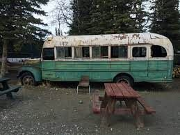 """Replica bus used in """"Into the Wild"""" film"""