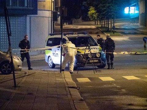 Påtalemyndigheten ber om at mannen som er tiltalt for å ha drept en kvinne og skadet to andre kvinner i Sarpsborg i juli i fjor, underlegges tvungent psykisk helsevern. Foto: Tobias Nordli