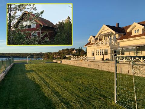 BILLIG OG DYRT: Begge er ferieboliger, men om du vil leie 2. etasje i et hus ved et gårdstun på Gressvik, blir det langt billigere enn en storslagen feriebolig på Grimsøy i Skjeberg. (Skjermdump: Finn.no)