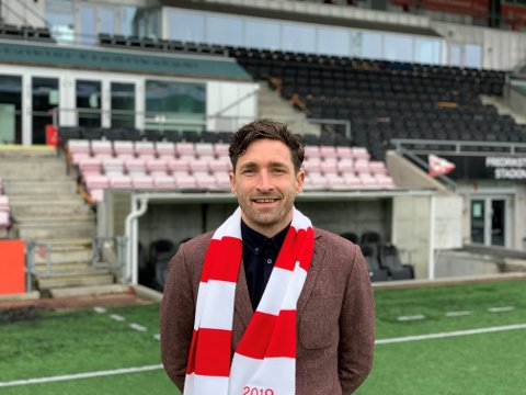 Anders Østli starter i FFK-jobben 19. april.