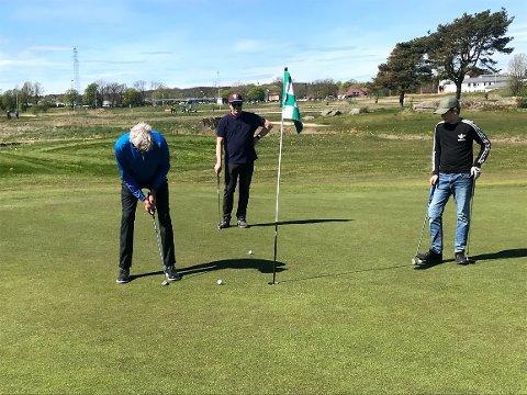 Fra onsdag er det igjen duket for å ta en golfrunde på Gamle Fredrikstad Golfklubb.