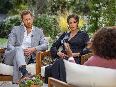 I kveld kan du se intervjuet med Meghan og Harry som har sjokkert mange. Den vises på TV3.