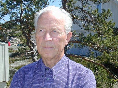 AKTIV: Inge Wold i Råde er død, etter et langt og aktivt liv. Han ble nær 90 år gammel.