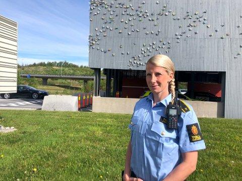 Martine Jensen (34) og resten av kollegene i TV-serien «Toll» er en av grunnene til den store søkermassen til tollutdanningen i år. (Arkivfoto: Randi Kristoffersen)