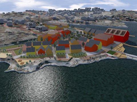 Den siste, nedskalerte versjonen av Marnet Marine Park.