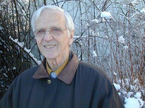 I ULIKT VÆR: Erik Bjønness-Jakobsen var en trofast person mot sin overbevisning.