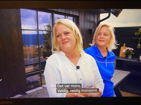 OPPLEVELSE: Trine og Trude rishaug Lium angrer ikke på at de ble med - og søstrene fra Toten har fått fans fra hele landet.
