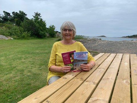 Inger-Torill Solberg (73) på Enhus. Et sted hun ofte drar for å bade.