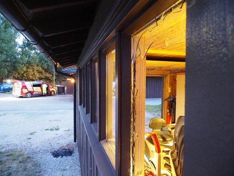KNUSTE RUTER: En person ble tirsdag kveld pågrepet etter at ruter ble knust flere steder på Greåker.
