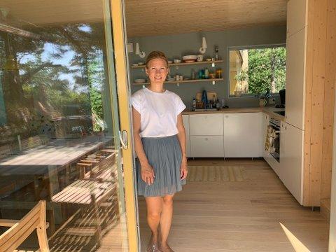 ARKITEKTEN: Ida Næss Haakanes fra Sted Arkitektur gjorde tilbygget arealeffektivt.