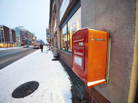 Arkivfoto av postboks.