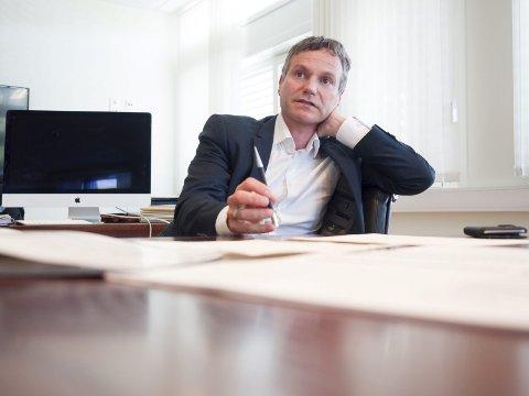 BETALER: Nordkraft vil betale boten på 1,5 millioner. Administrerende direktør Eirik Frantzen mener NVE har gitt en riktig vurdering når energiselskapet har brutt bestemmelser om minstevannføring. Foto: Arkiv