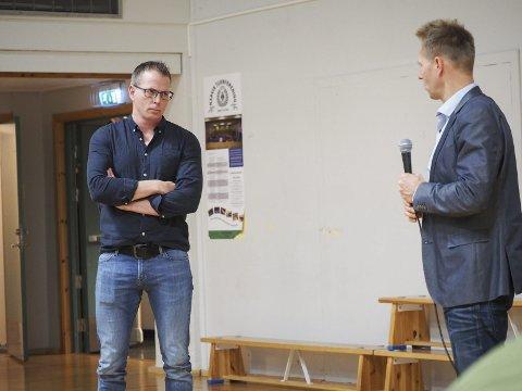 VIL HA STORSKOLE: FAU-leder ved Framnes skole Bengt Berntsen ønsker seg en storskole. Men er irritert på Narvik kommune – som ikke har kommet opp med en plan om hvordan arbeidene med å bygge ny skole skal gjøres.