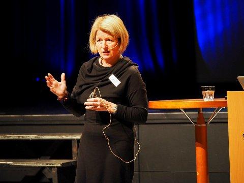 Rektor, Anne Husebekk, UiT Norges Arktiske Universitet på Opptur 2016, i går onsdag i Narvik.