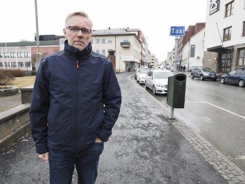 Varsler protester: Daglig leder i Narvik Taxi, Jørn Indresand.