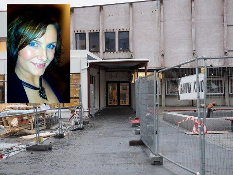 Irritert: Susanne Hjuring Mikalsen (innfelt) ble irritert da datteren ble nektet å betale med kontanter da hun skulle på kino.