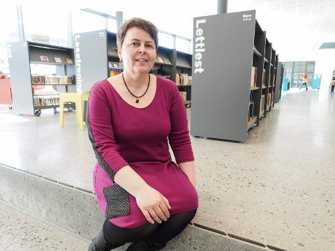 Biblioteksjef Tonje Farset Narvik bibliotek