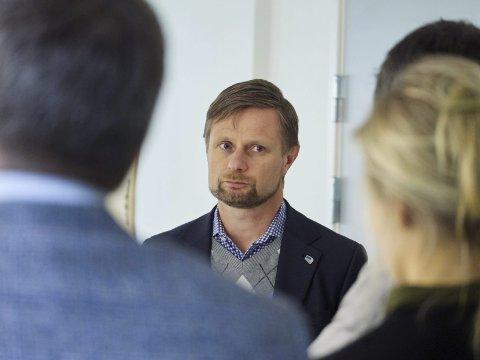 Helseministeren: Bent Høie, her fra da han var i Narvik. Arkivfoto