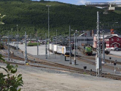 Kan få penger: Narvikterminalen på Fagernes.
