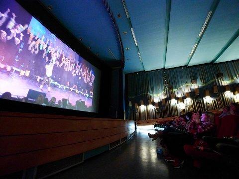 Nå skal Aurora kino starte å vise filmperler. Arkivfoto.