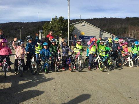STØTTE: Folk i Nord-Norge viser størst støtte for et sykkelhjelm-påbud. Foto: Arkivfoto