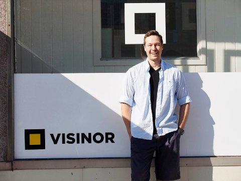 Patrik Bones Olsen er glad for å få Eirik Frantzen med på laget både som styreleder og aksjonær.