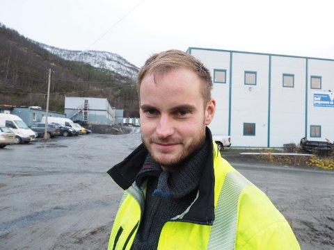 Tommy Jørgensen føler seg trygg på at de får en stor jobb på Senja.