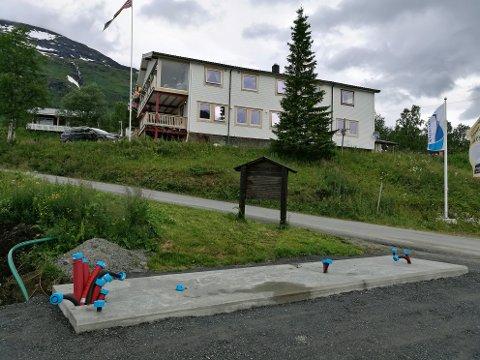 SNART KLAR: Slik ser det ut på Lapphuagen for øyeblikket. Foto: Bjørnar Lundberg.