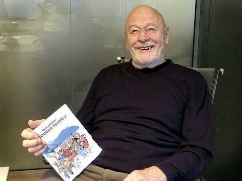 HAT OG KJÆRLIGHET: Knut Smistads 23. bok tar for seg forholdet mellom Narvik og Bjerkvik, og flere historier fra byen og folkene i og rundt den.