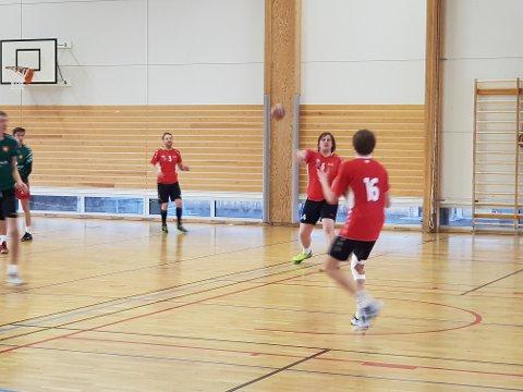 SVIENDE TAP: Ankenes Håndballklubbs herrelag måtte se seg slått av konkurrentene fra Harstad i den første kampen lørdag.