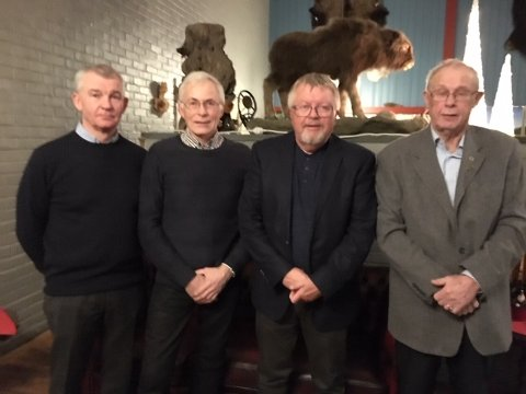 Fra venstre: Stig Køhl, Stig Are Kjelbotn, Hans Hammer og Kjell Petter Kolberg.