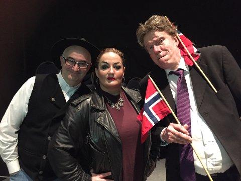 Fra venstre: Hansi Lorentsen, Ann-Hege Lund og Vidar Hardersen(Ekspertpanelet)