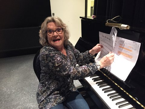 Wigdis Aune Strømsnes (Organisten)