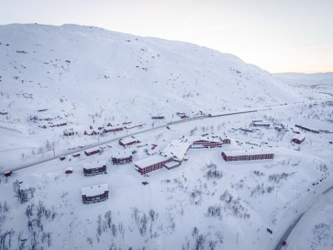 INNVILGET: Lapland Resorts fikk innvilget søknaden om en forbudssone for snøscooterkjøring på Riksgränsen.