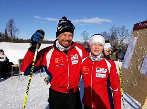Rune Skog og Marita Olsen leverte gode resultater under helgas NNM på Bardufoss. Olsen ble nordnorsk mester.