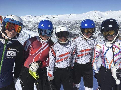 Lokale utøvere: Oliver Stokkedal, Johanne Eilertsen, Nora Hall og Pernille og Mathilde Solback Sund deltok på Hovedlandsrennet på Hemsedal.