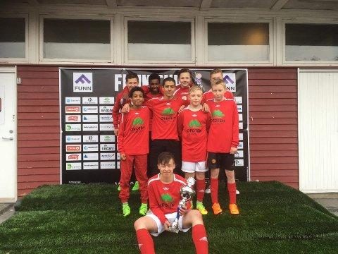 Seiersgutter: Liland gutter 14 år vant Funn Cup.