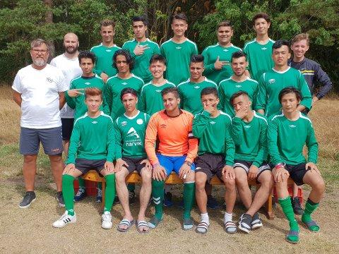 Gratangens 11er-lag i 17-årsklassen røk ut i åttendelsfinalen.