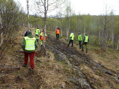 NVE og grunneiere har sammen med Stanett gjennomført miljøtilsyn og sluttbefart anleggsveier og baseplasser som er benyttet under anlegsperioden for byggingen av den nye kraftlinjen mellom Kvandal og Balsfjord. Det meste var ok - men Statnett har fått noen pålegg om utbedringer.