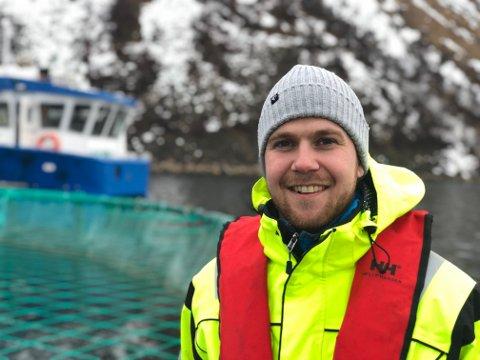 OPTIMIST: Karl Erik Bekkeli er prosjekleder for når Salaks AS sin Fjordmax utvikles.